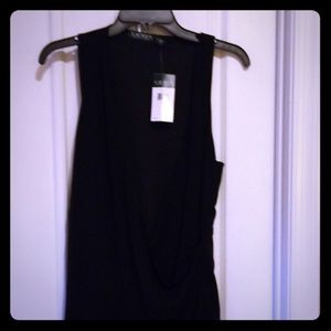 Black sleeveless surprise top